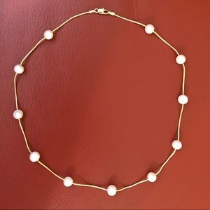 ROSS-SIMONS 14k pearl necklace